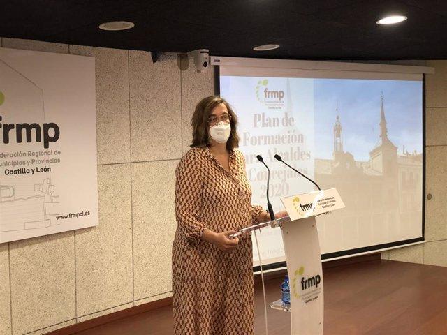 La presidenta de la FRMP, Ángeles Armisén.