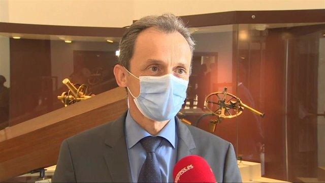 Ministro de Ciencia e Innovación, Pedro Duque.