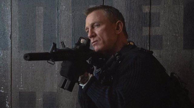 Daniel Craig en el tráiler de Sin tiempo para morir, su última película como James Bond