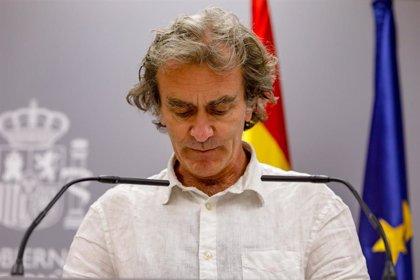 """Simón asegura que """"no es lógico"""" plantear un confinamiento en Madrid porque la situación no lo requiere"""