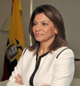 La expresidenta de Costa Rica, Laura Chinchilla.