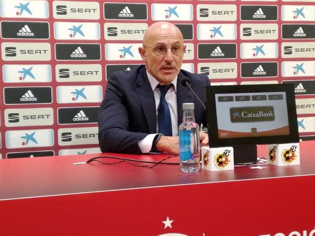 """Fútbol/Sub-21.- De la Fuente: """"Los jugadores nuevos nos van dar un salto de cali"""