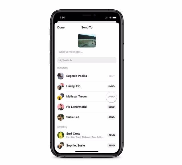 Messenger limita el reenvío de mensajes: solo a cinco personas o grupos
