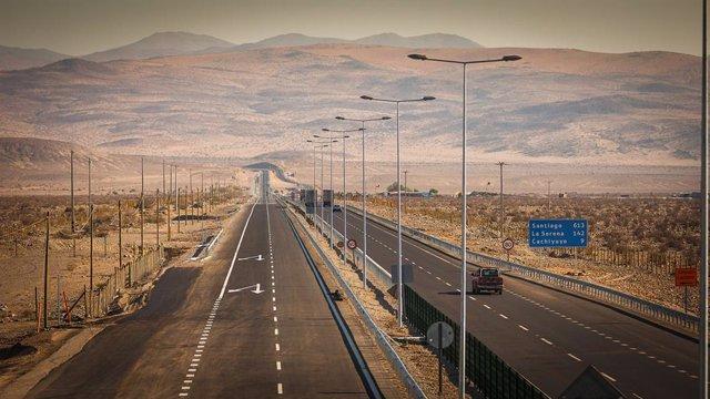 Autopista La Serena-Vallenar de Sacyr en Chile