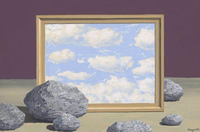 René Magritte (1898-1967) La Grande Marée, ca. 1957 Gouache sobre papel, 26,5  35 cm Colección particular