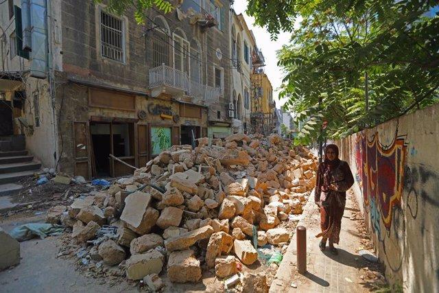 Líbano.- La tarea imposible para las víctimas de la explosión de Beirut de recon