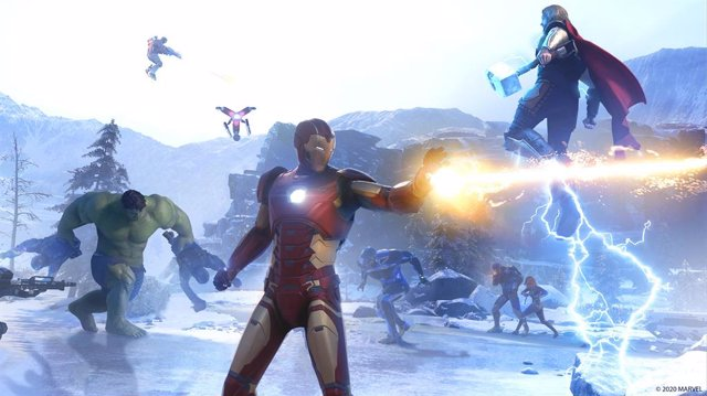 Los Vengadores llegan a consolas, PC y Stadia con el videojuego Marvel's Avenger