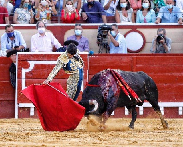 Imagen de archivo de la corrida de toros del 140 aniversario de la plaza de toros de El Puerto de Santa María (Cádiz), celebrada en agosto.
