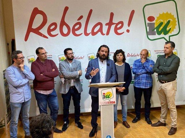 Alcaldes de IU en la provincia de Cádiz