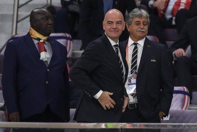 Fútbol.- Gianni Infantino confiesa estar muy afectado por las acusaciones de la