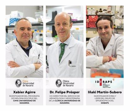 Descifran el epigenoma del mieloma múltiple y descubren un rasgo molecular común en los pacientes afectados