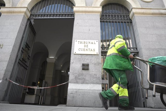 Edificio principal del Tribunal de Cuentas, en la calle Fuencarral de Madrid