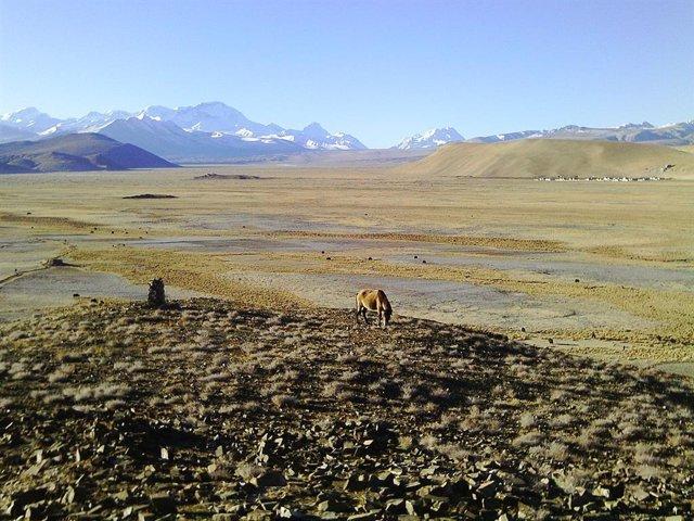 El deshielo ártico intensifica el transporte de aerosoles al Tibet