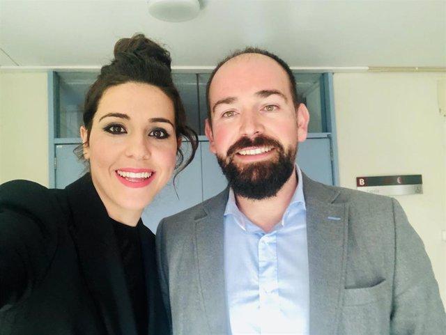 Los investigadores de la UGR Eva Orantes y José María Heredia