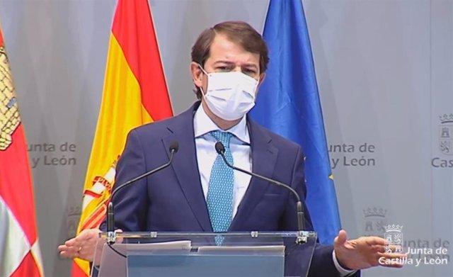 """Mañueco propone a Sánchez un Pacto de Estado para erradicar de una vez por todas la """"brecha digital"""""""