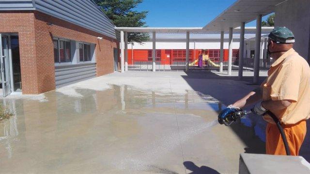 Nota Dispostivo Limpieza Entorno Colegios