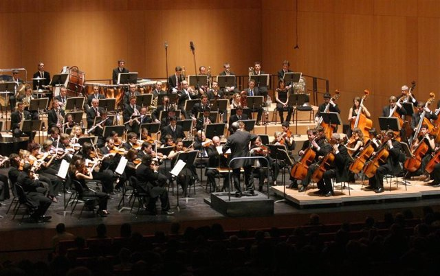 Imagen de una actuación de la ROSS
