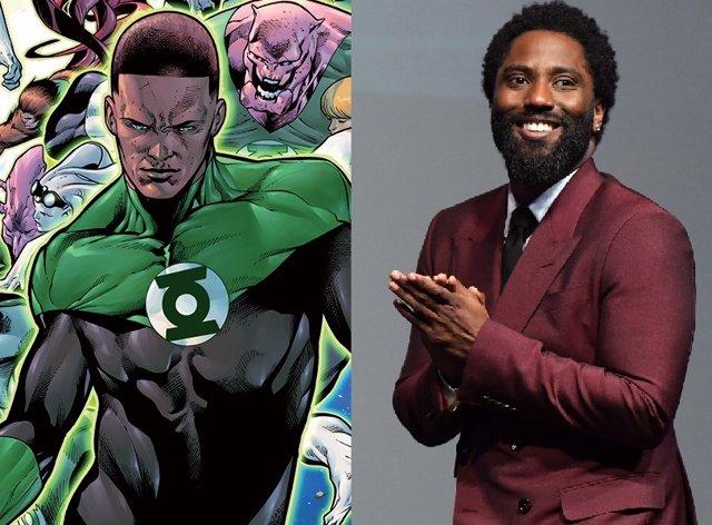 John David Washington como Green Lantern