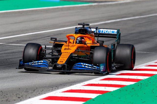 """Fórmula 1/GP Italia.- Carlos Sainz: """"Hemos tenido dos sesiones fuertes"""""""