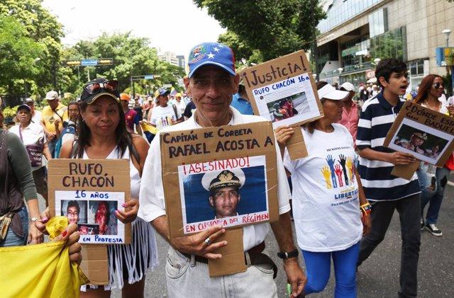 Venezuela.- Amnistía denuncia torturas contra el militar venezolano Rafael Acost