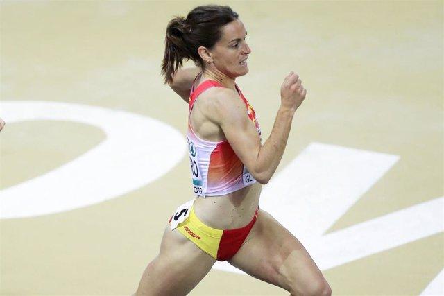 La atleta española Esther Guerrero