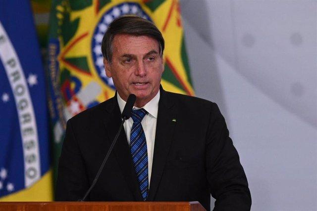 El presidente de Brasil, Jair Bolsonaro.