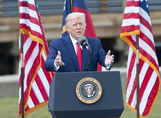 US President Trump visits North Carolina