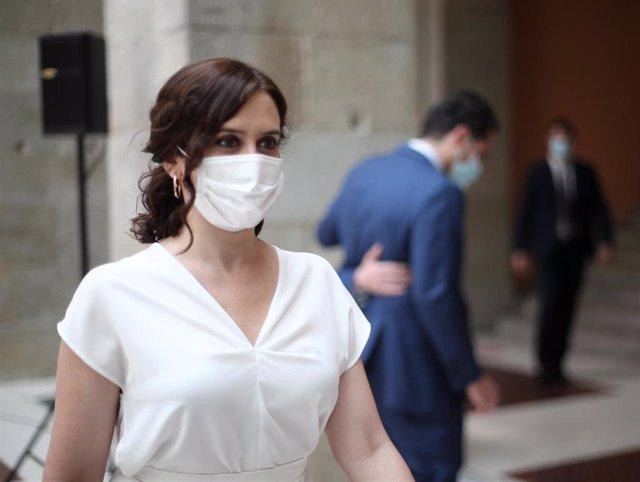 Foto recurso de la presidenta de la Comunidad de Madrid, Isabel Díaz Ayuso.
