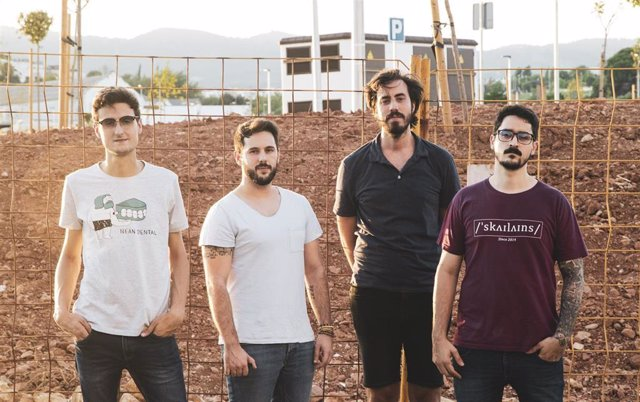 El grupo andaluz de rock alternativo 'Same Fire'.