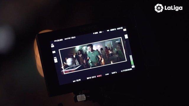 Fútbol.- Álex González, protagonista del teaser oficial del inicio de LaLiga