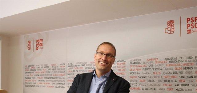 Ernest Blanch, secretario general del PSPV en Castellón