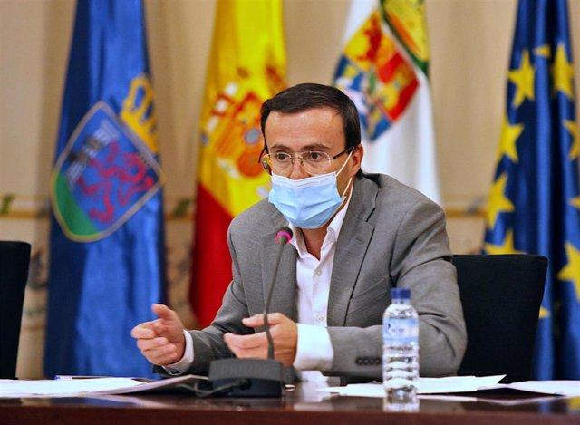 El alcalde de Villanueva de la Serena, Miguel Angel Gallardo.