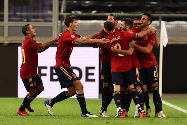 Fútbol/Selección.- Previa del España - Ucrania