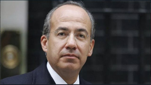 El expresidente mexicano Felipe Calderón