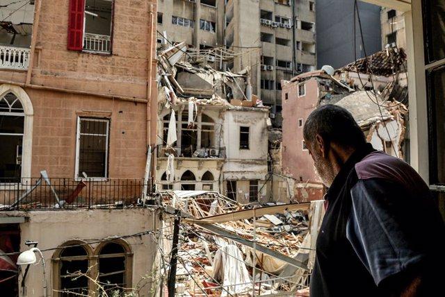 Líbano.- El Ejército de Líbano elimina más de cuatro toneladas de nitrato de amo