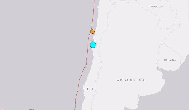 Chile.- Un terremoto de 6,3 grados sacude la costa de Chile