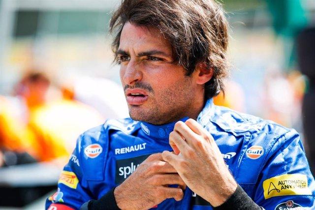 El español Carlos Sainz