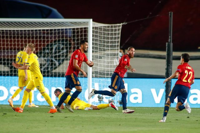 Soccer: Nations League - Spain v Ukraine