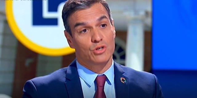 Entrevista al president del Govern espanyol, Pedro Sánchez