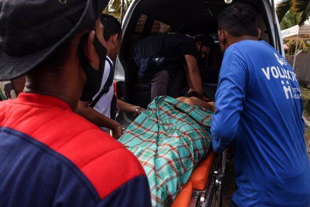 Refugiados rohingyas rescatados en junio en Aceh, Indonesia