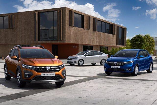 Nuevos Dacia Sandero, Sandero Stepway y Logan.