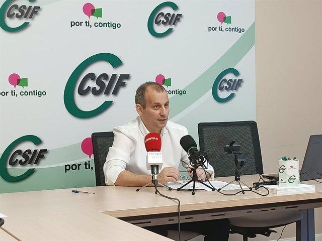 Responsable de Educación del CISF, Mario Gutiérrez