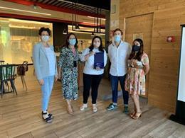 Pastelería Para Gustos ganadora del concurso BurGO! Challenge en el centro comercial Camino de la Plata