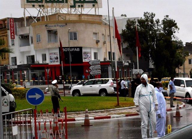 Túnez.- Siete detenidos por el atentado del domingo contra dos militares tunecin