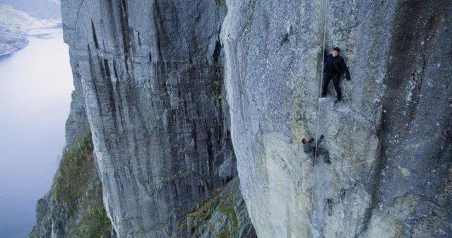 Imagen de Misión Imposible 7 con Tom Cruise