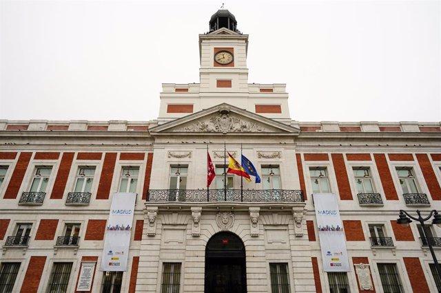La Real Casa de Correos se iluminará esta noche con los colores de Brasil, para
