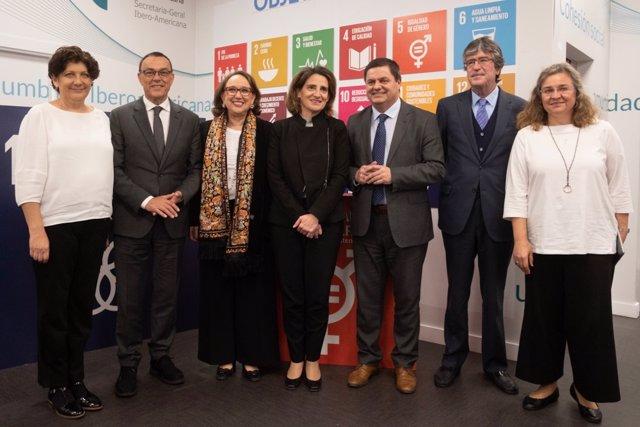 Huelva.- La secretaria general iberoamericana estará en Huelva este miércoles co