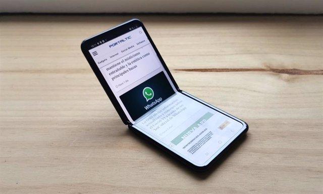 Smartphone flexible Galaxy Z Flip, de Samsung