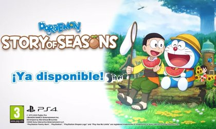 Portaltic.-'Doraemon Story of Seasons' anima a los jugadores a crear su propia granja con Nobita y Doraemon