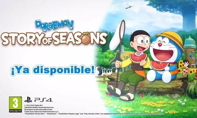 'Doraemon Story of Seasons' anima a los jugadores a crear su propia granja con N
